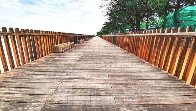 Nhìn gần cầu gỗ lim siêu sang xứ Huế sau vượt lũ báo động 3 - ảnh 9
