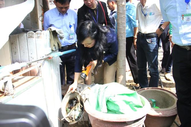 Bộ trưởng Bộ Y tế kiểm tra tình hình sốt xuất huyết tại Đà Nẵng - ảnh 1