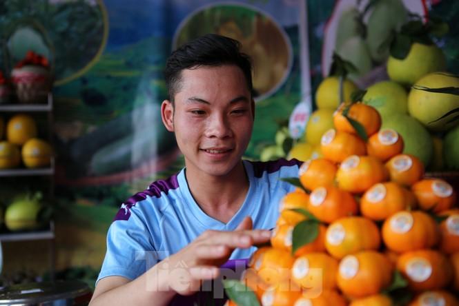 Đặc sắc hội chợ cam, bưởi ở Bắc Giang - ảnh 8