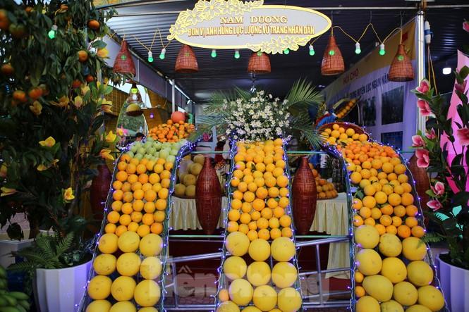 Đặc sắc hội chợ cam, bưởi ở Bắc Giang - ảnh 2