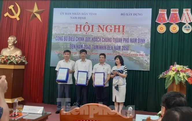 Điều chỉnh quy hoạch thành phố Nam Định, lấy sông Đào làm trục trung tâm - ảnh 1