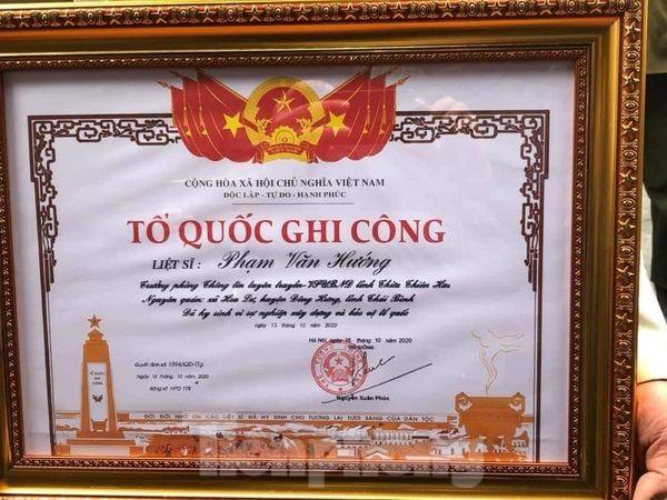 Quê mẹ Thái Bình đón Liệt sỹ, nhà báo Phạm Văn Hướng hi sinh ở Rào Trăng - ảnh 4