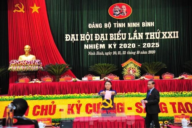 Bà Nguyễn Thị Thu Hà tái đắc cử Bí thư Tỉnh uỷ Ninh Bình - ảnh 1