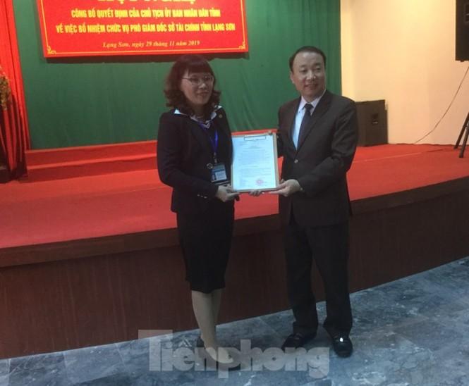 bổ nhiệm lãnh đạo sở Xây dựng, Tài chính Lạng Sơn - ảnh 1