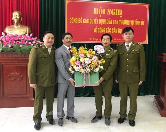 Cục trưởng QLTT tỉnh làm Bí thư huyện ủy Văn Lãng - ảnh 1