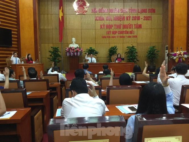 Ông Hồ Tiến Thiệu đảm trách chức vụ Chủ tịch UBND tỉnh Lạng Sơn - ảnh 3