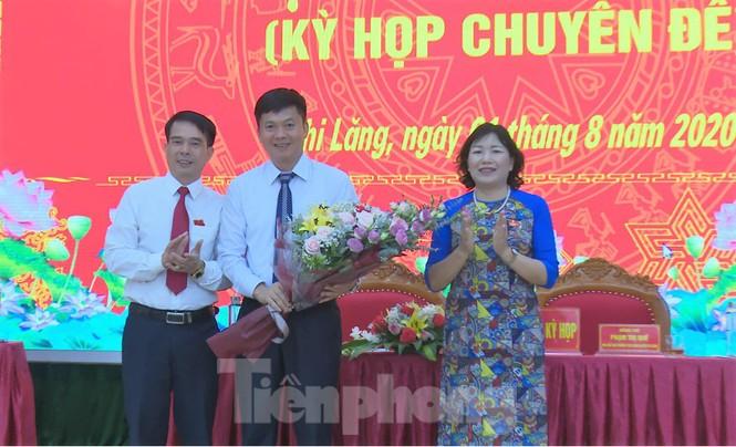Luân chuyển, bầu cử nhiều lãnh đạo chủ chốt huyện Chi Lăng  - ảnh 1