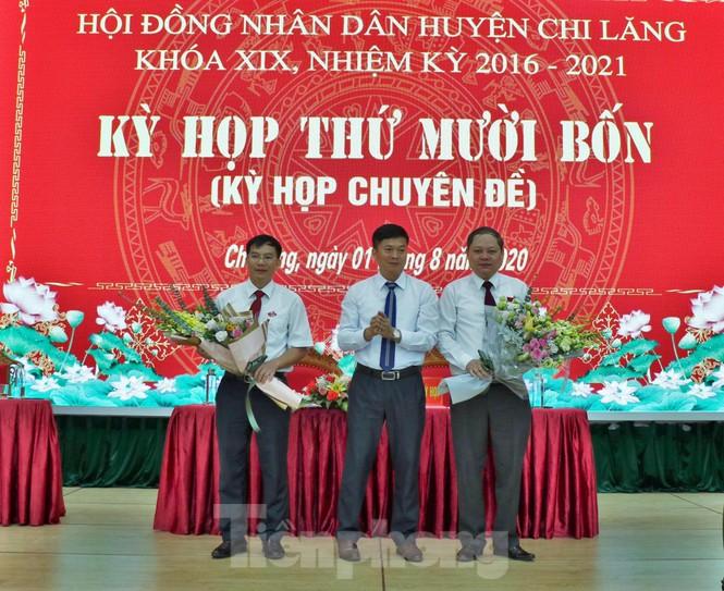 Luân chuyển, bầu cử nhiều lãnh đạo chủ chốt huyện Chi Lăng  - ảnh 3