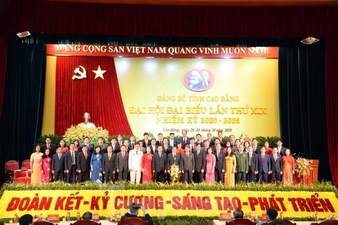 Đồng chí Lại Xuân Môn tái đắc cử Bí thư tỉnh ủy Cao Bằng  - ảnh 1