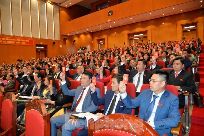 Đồng chí Lại Xuân Môn tái đắc cử Bí thư tỉnh ủy Cao Bằng  - ảnh 3