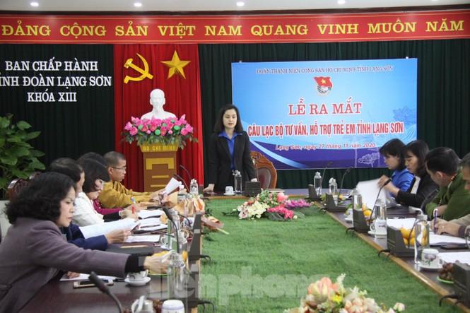 Ra mắt Câu lạc bộ tư vấn, hỗ trợ trẻ em tỉnh Lạng Sơn  - ảnh 1