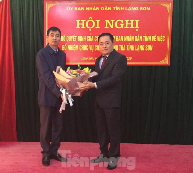 Bổ nhiệm Chánh thanh tra tỉnh Lạng Sơn  - ảnh 1