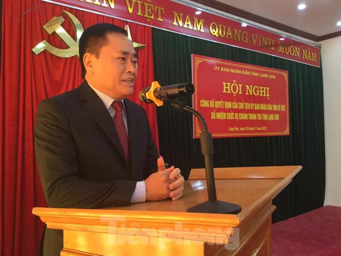 Bổ nhiệm Chánh thanh tra tỉnh Lạng Sơn  - ảnh 2