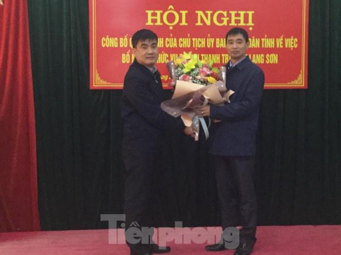 Bổ nhiệm Chánh thanh tra tỉnh Lạng Sơn  - ảnh 3
