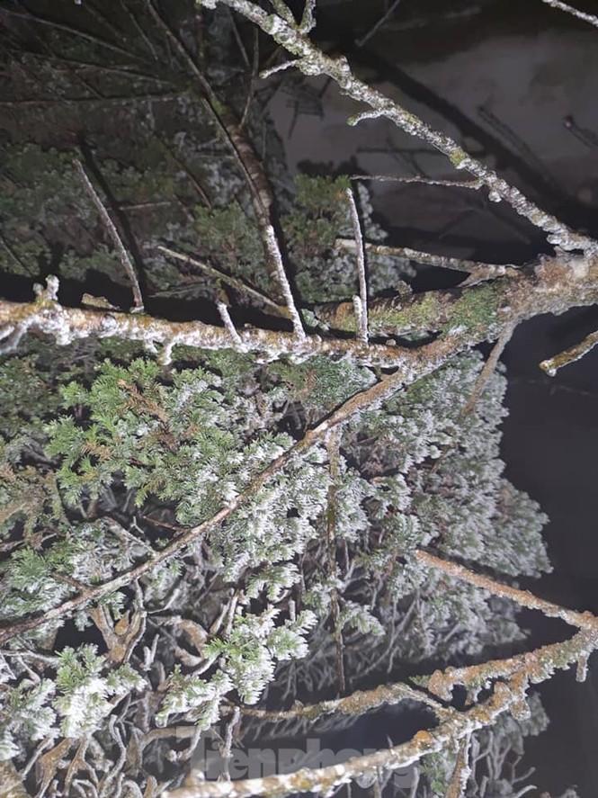 Băng tuyết xuất hiện trên đỉnh Mẫu Sơn  - ảnh 2