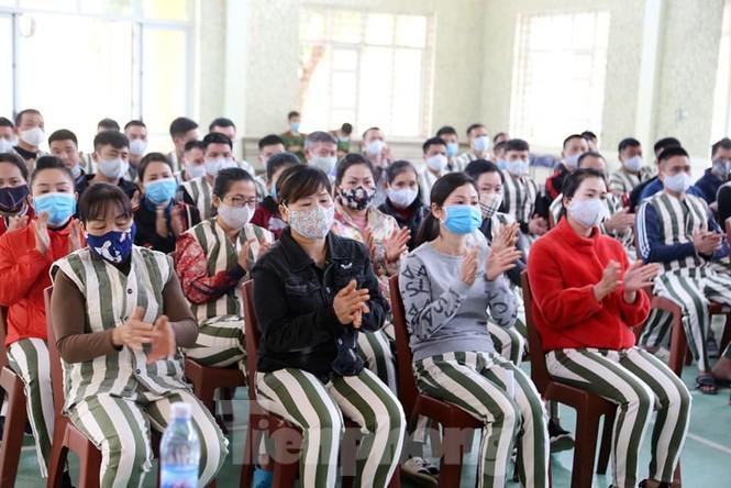 Nhiều phạm nhân ở Lạng Sơn được giảm án trong dịp tết nguyên đán  - ảnh 2