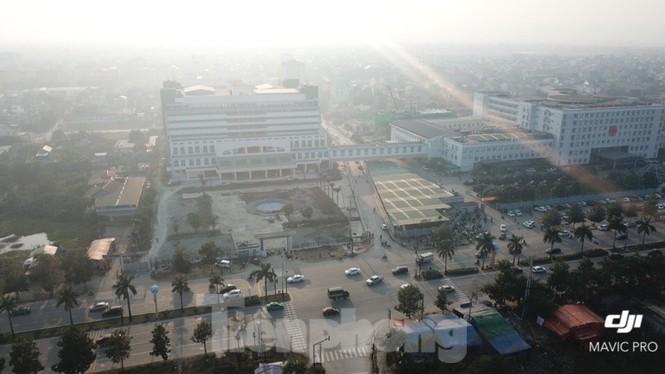 Cận cảnh dự án bệnh viện nghìn tỷ chậm tiến độ ở Nghệ An - ảnh 1