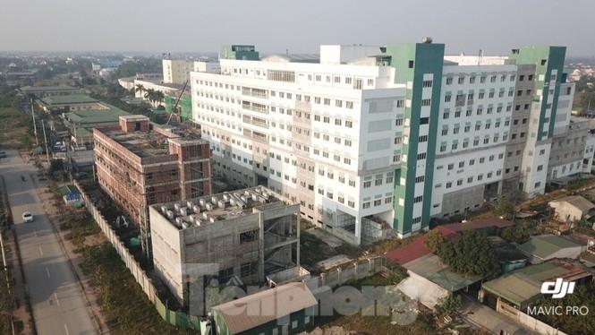 Cận cảnh dự án bệnh viện nghìn tỷ chậm tiến độ ở Nghệ An - ảnh 2