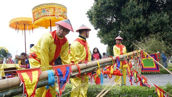 Nghi lễ cúng ông Công ông Táo tại Hoàng thành Thăng Long có gì đặc biệt? - ảnh 7