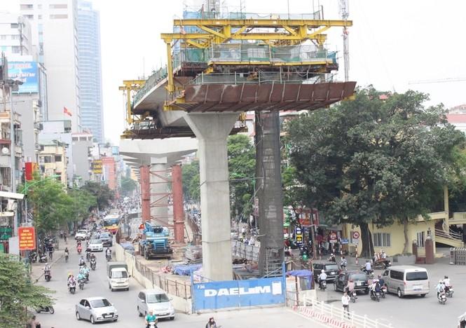 Cận cảnh đoạn metro Hà Nội vừa bị đòi bồi thường 19 triệu USD - ảnh 2