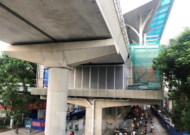 Cận cảnh đoạn metro Hà Nội vừa bị đòi bồi thường 19 triệu USD - ảnh 3