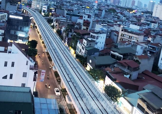 Cận cảnh đoạn metro Hà Nội vừa bị đòi bồi thường 19 triệu USD - ảnh 4