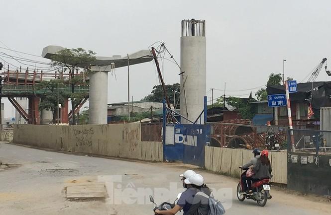 Cận cảnh đoạn metro Hà Nội vừa bị đòi bồi thường 19 triệu USD - ảnh 5