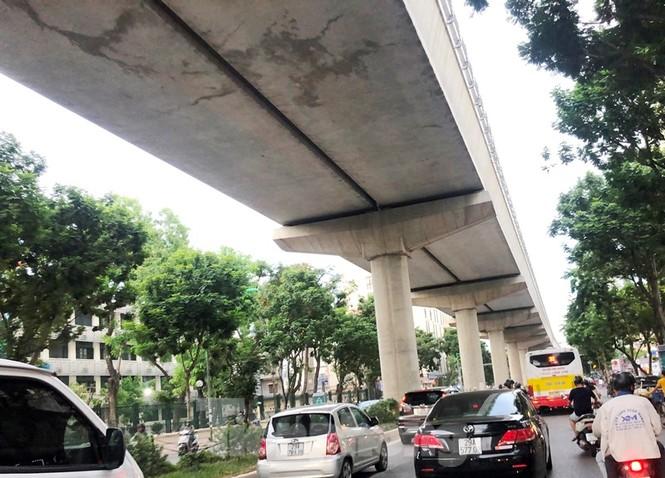Cận cảnh đoạn metro Hà Nội vừa bị đòi bồi thường 19 triệu USD - ảnh 8