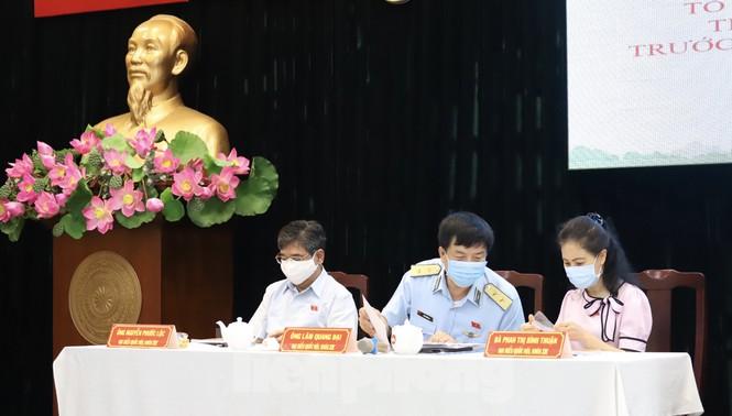 Vụ án Hồ Duy Hải 'làm nóng' buổi tiếp xúc cử tri ở TPHCM - ảnh 1