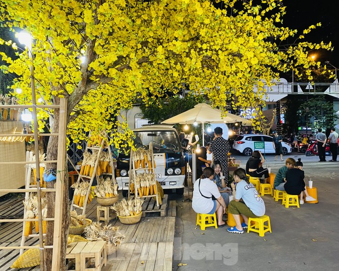Đường phố TPHCM lung linh trang trí trâu vàng đón Tết Tân Sửu - ảnh 9