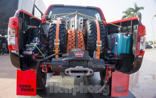 'Cận cảnh' chiếc xe cùng đội đua Việt Nam chinh phục giải Rally châu Á - ảnh 4
