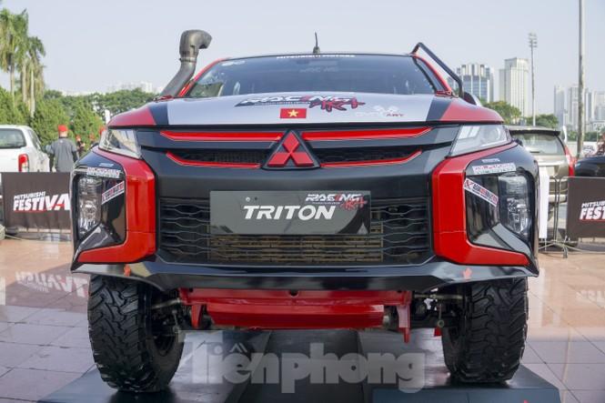 'Cận cảnh' chiếc xe cùng đội đua Việt Nam chinh phục giải Rally châu Á - ảnh 1