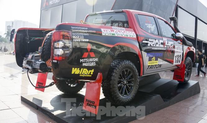 'Cận cảnh' chiếc xe cùng đội đua Việt Nam chinh phục giải Rally châu Á - ảnh 3