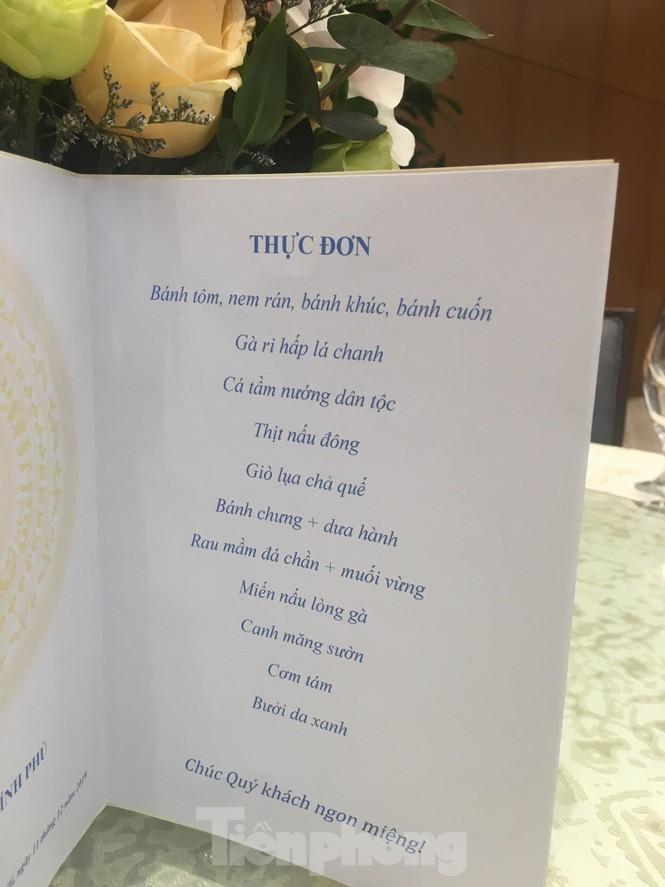 Bữa tiệc mừng các tuyển thủ Việt Nam ở Văn phòng Chính phủ có gì? - ảnh 6