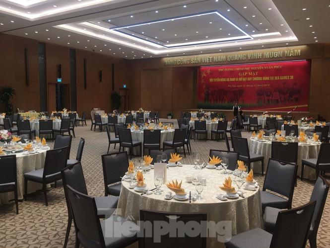 Bữa tiệc mừng các tuyển thủ Việt Nam ở Văn phòng Chính phủ có gì? - ảnh 1