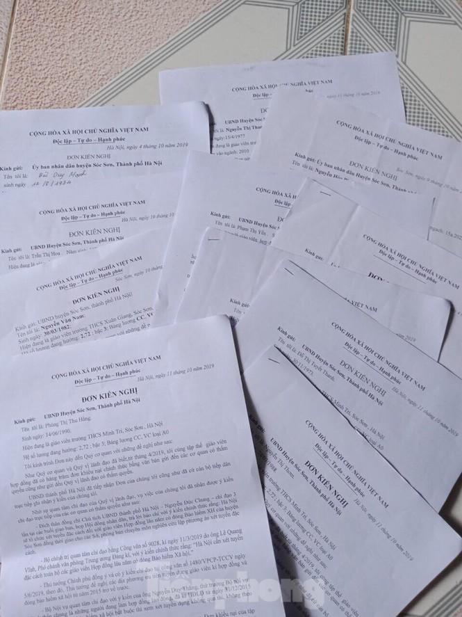 Sóc Sơn:Tạm dừng chấm dứt hợp đồng với giáo viên để chờ xét đặc cách - ảnh 1