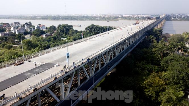 Mặt cầu Thăng Long đang được sửa ra sao? - ảnh 2