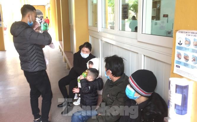 Bệnh viện Hà Nội những ngày rét đậm - ảnh 11