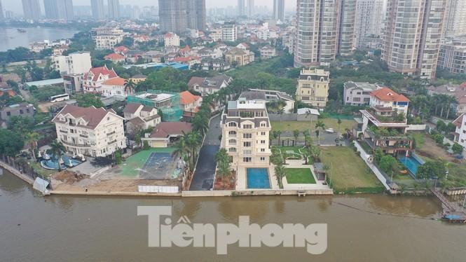 TP. HCM: Tổng kiểm tra trên 100 dự án có dấu hiệu lấn sông Sài Gòn - ảnh 1