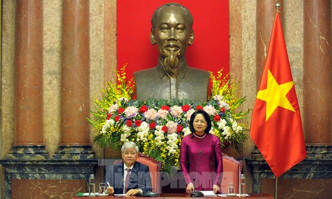 Phó Chủ tịch nước gặp gỡ 120 gương dân tộc thiểu số xuất sắc năm 2019 - ảnh 4