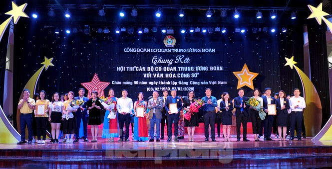 Hiện tượng 'siêu to khổng lồ', Táo quân lên sân khấu hội thi văn hóa công sở - ảnh 14