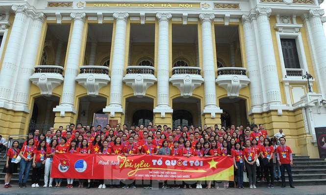 Trí thức trẻ Việt Nam toàn cầu tụ hội tham gia hành trình 'Tôi yêu Tổ quốc tôi' - ảnh 10