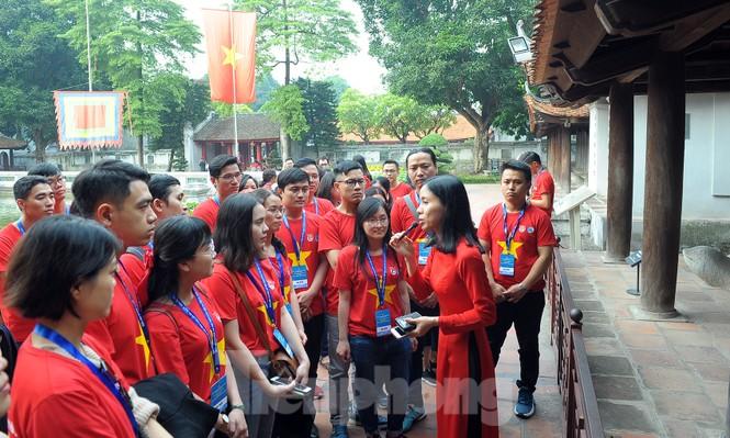 Trí thức trẻ Việt Nam toàn cầu tụ hội tham gia hành trình 'Tôi yêu Tổ quốc tôi' - ảnh 4