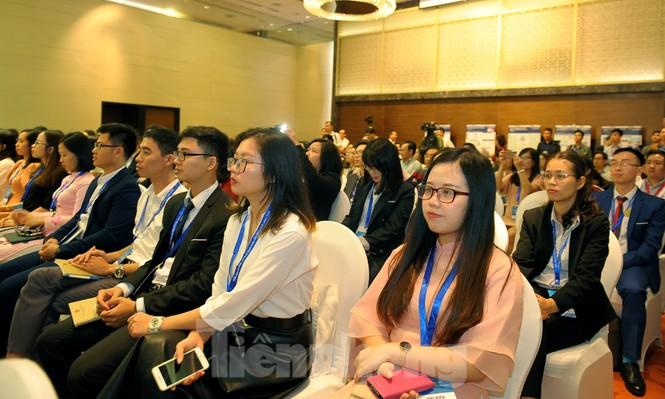 Toàn cảnh lễ khai mạc Diễn đàn Trí thức trẻ Việt Nam toàn cầu lần thứ II - ảnh 5