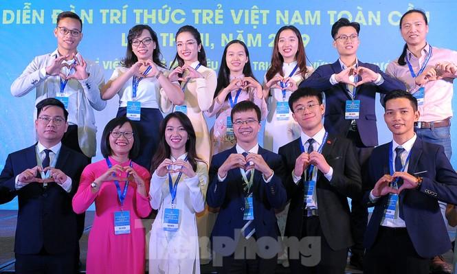 Toàn cảnh lễ khai mạc Diễn đàn Trí thức trẻ Việt Nam toàn cầu lần thứ II - ảnh 14