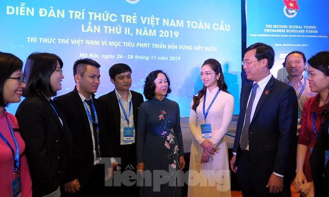 Toàn cảnh lễ khai mạc Diễn đàn Trí thức trẻ Việt Nam toàn cầu lần thứ II - ảnh 12