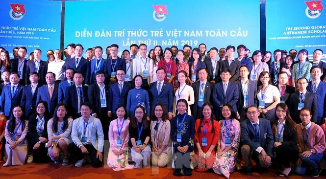 Toàn cảnh lễ khai mạc Diễn đàn Trí thức trẻ Việt Nam toàn cầu lần thứ II - ảnh 13