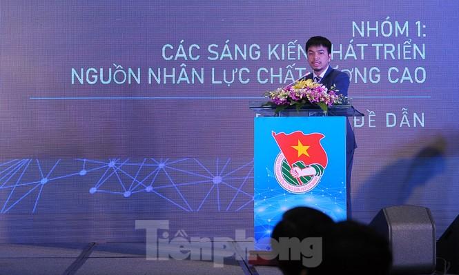 Toàn cảnh lễ khai mạc Diễn đàn Trí thức trẻ Việt Nam toàn cầu lần thứ II - ảnh 6