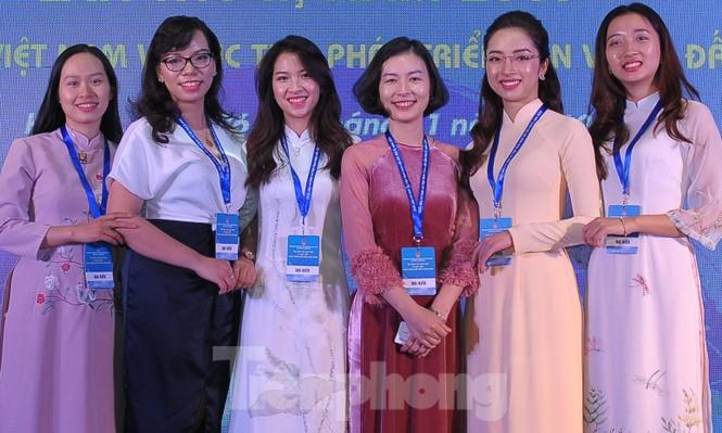 Người Việt trẻ rạng ngời ở Diễn đàn Trí thức trẻ Việt Nam toàn cầu - ảnh 12