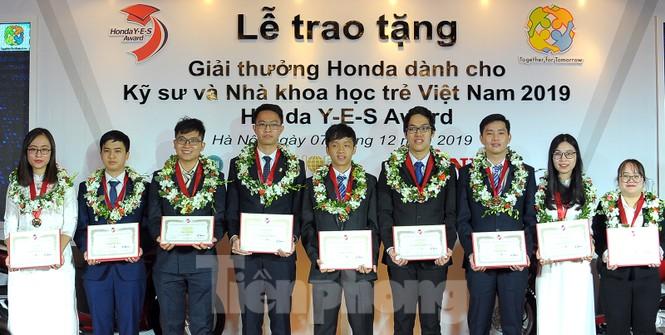 10 kỹ sư, nhà khoa học trẻ nhận giải thưởng Honda Y-E-S - ảnh 3